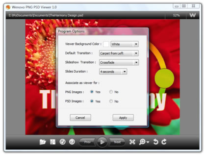 Png Psd Viewer Reader Free Graphic Web Design Software